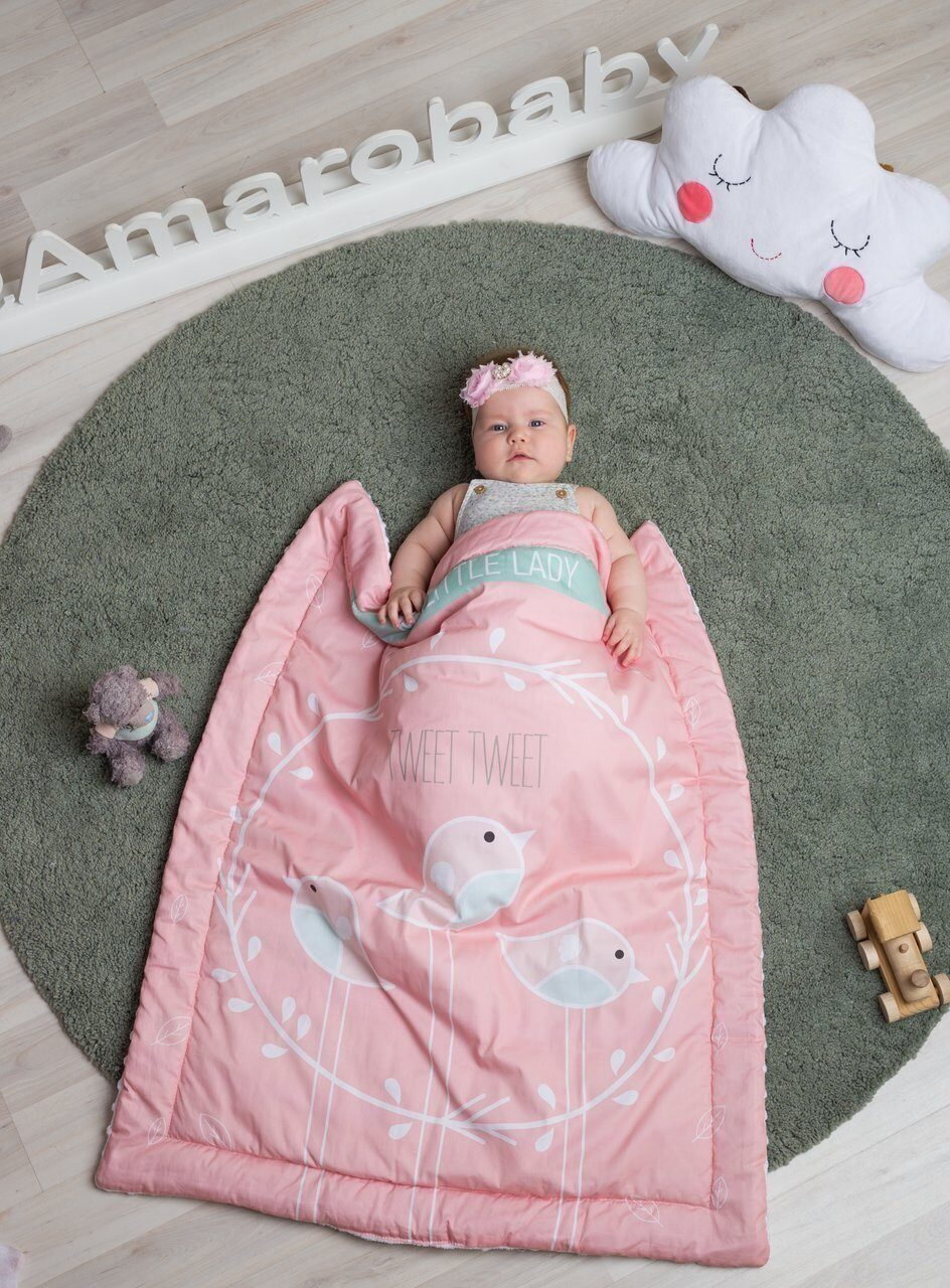 Плед AmaroBaby EXCLUSIVE Creative Collection 95х85 MY LITTLE LADY